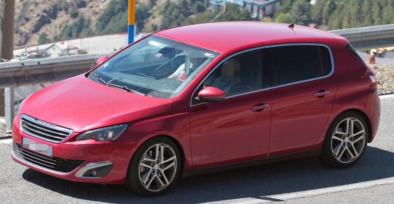2015 2016 Peugeot 308 GTi First Spy Photos and Specs