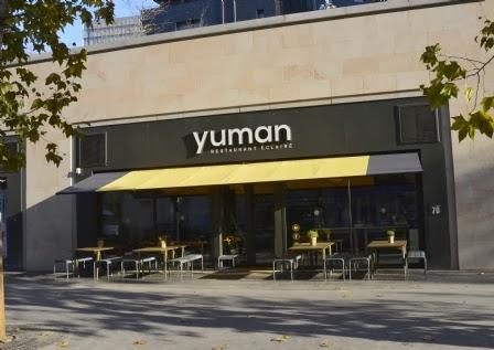 Yuman Restaurant bio locavore Paris