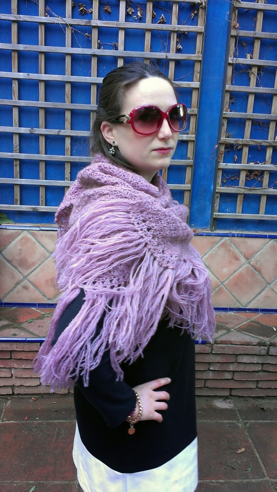 firmoo sunglasses pink gafas de sol rosas sesentero sixties modistilla de pacotilla