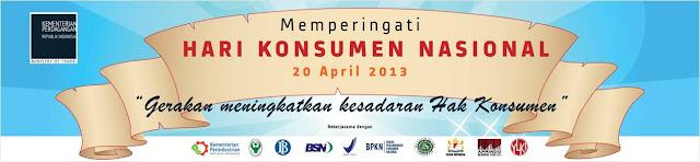 Memperingati Hari Konsumen Nasional
