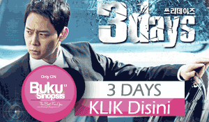 "DRAMA KOREA TERBARU DI 2014 ""3 DAYS/ THREE DAYS"""