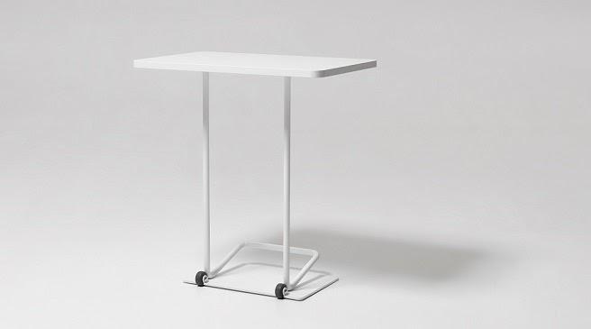 Marzua mesa auxiliar m vil peque a y resistente for Mesas pequenas ordenador