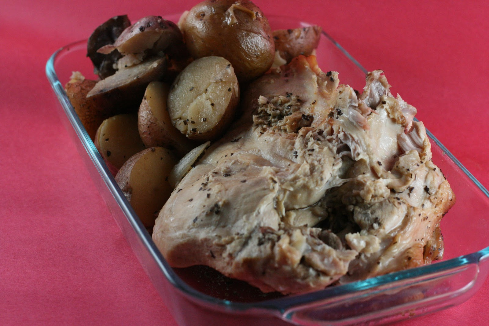 Year of Slow Cooking: Beer Braised Turkey with Potatoes