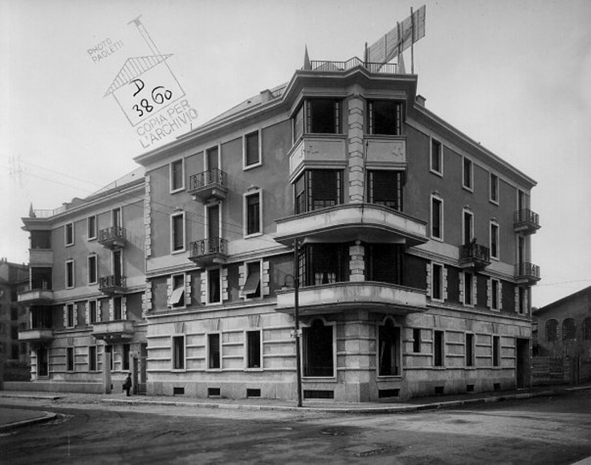Grandi architetti milanesi piero portaluppi urbanfile blog for Case di architetti moderni