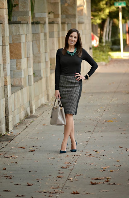 Pencil Skirt in the Fall