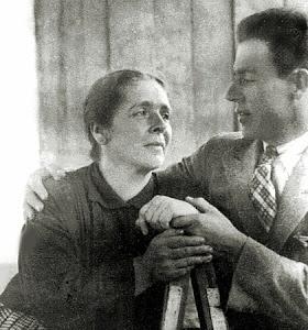 Carmen Ossa Tobón y su hijo Luis Ossa Ossa