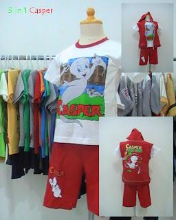Toko, busana, anak, baju, kartun