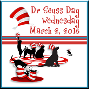 Zoolatry Dr Seuss Day Badge