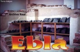 El archivo o biblioteca de la ciudad de Ebla