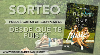 Sorteo en Books and Paradise