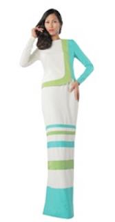 modern kurung trendy design baju raya