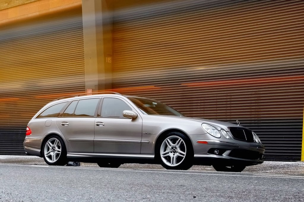 Daily turismo dto se7en passenger 2005 mercedes benz for Mercedes benz e55 amg wagon for sale