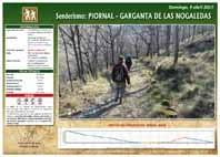 RUTA: PIORNAL-GARGANTA DE LAS NOGALEDAS