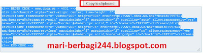 Cara Membuat Chat Box di Blog