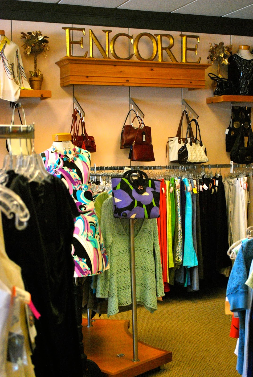 Designer Clothing Stores In Atlanta Encore Boutique features brand