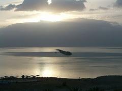 Sun rise at the Dead Sea