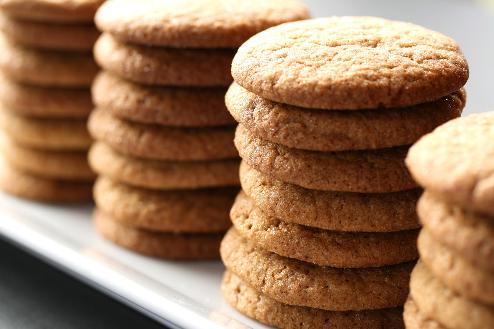 Ginger Snap Cookies - Saving Room for Dessert