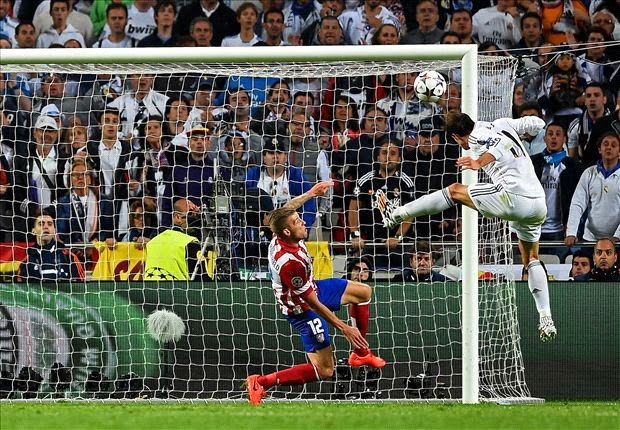 Gareth Bale (2-1) Real Madrid 4 - 1 Atlético de Madrid (24/05/2014) Real Madrid Campeón de Champions League 2013/2014.