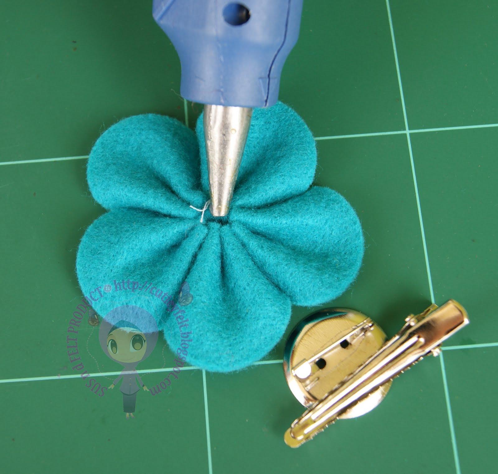 MISZ LU'LU mahu jadikan bunga kemboja ini sebagai hair clip + brooch