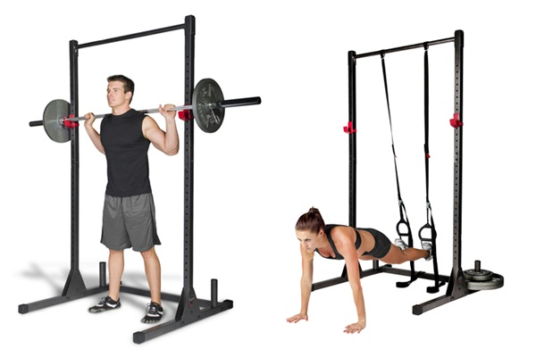 Best Cap Barbell Power Squat Rack Exercise Stand Review 2015 - Top ...