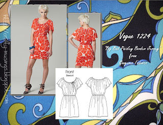 sewing plan for Vogue 1224