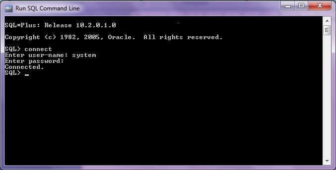 Code Hookup How To Run Sql Command Line In Oracle 10g