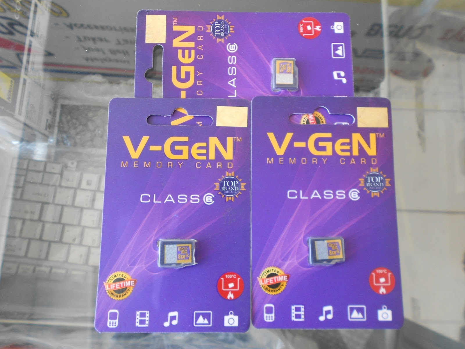Aneka Cell Praya Memory Dan Flashdisk Vgen 8gb Micro Sd Kelas 6 Tersedia Size 4 8 16