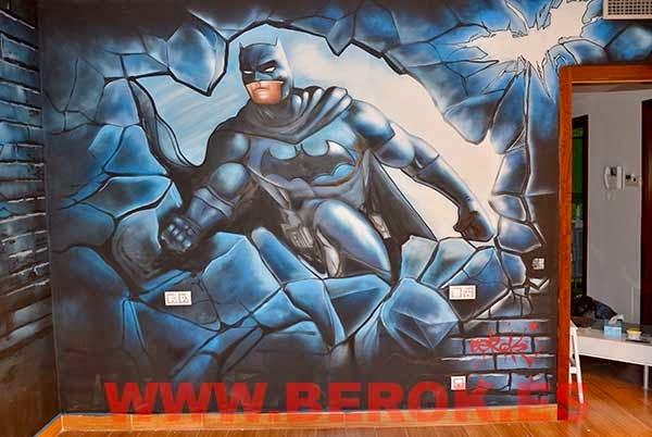 Graffitis de Batman