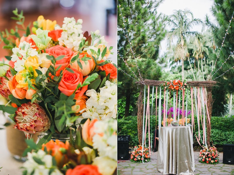 hitched wedding planners singapore summer rustic themed