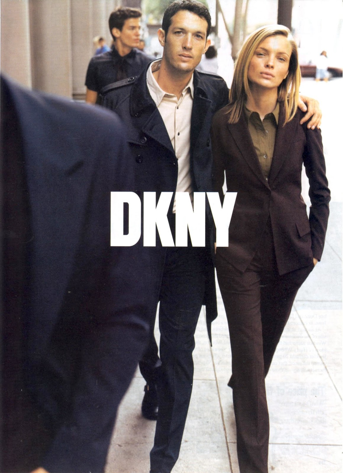 DKNY Fall/Winter 1997 campaign