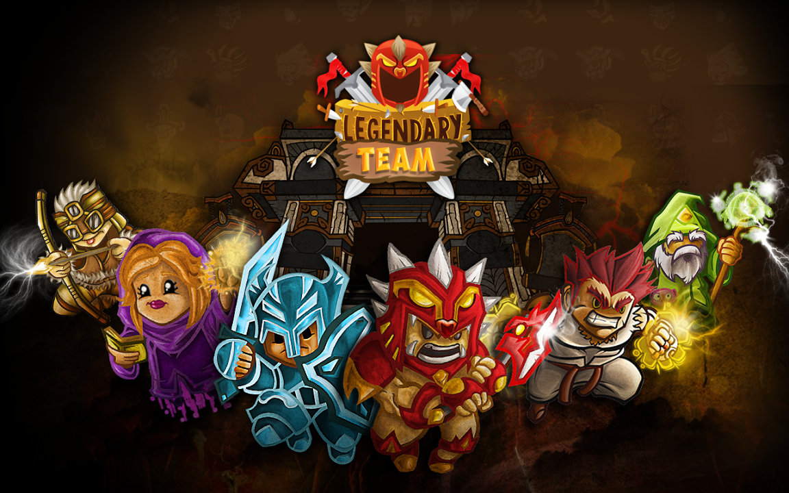 Legendary Team Gameplay IOS / Android