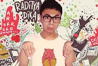 Dika Angkasaputra Moerwani atau dikenal dengan nama Raditya Dika terlahir sebagai orang Jakarta, 28 Desember 1984; umur 29 tahun, akrab dipanggil Radith  Raditya Dika adalah seorang penulis asal Indonesia yang menulis buku-buku jenaka. Tulisan-tulisan itu berasal dari blog pribadinya yang kemudian dibukukan. Buku pertamanya berjudul Kambing Jantan masuk kategori best seller. Buku tersebut menampilkan kehidupan Dikung (Raditya Dika) saat kuliah di Australia.  Tulisan Radith bisa digolongkan sebagai genre baru. Kala ia merilis buku pertamanya tersebut, memang belum banyak yang masuk ke dunia tulisan komedi.Apalagi bergaya diari pribadi (personal essay).  Setelah buku pertamanya sukses iapun mnulis buku buku berikutnya. Buku pertamanya juga berhasil diangkat menjadi sebuah judul film dan diikuti dengan film film berikutnya seperti saat ini, juga akan segera diputar film berjudul Marut Merah Jambu. dalam film itu turut serta Franda berperan sebagai pacarnya.   Biodata Raditya Dika   Nama lahir Dika Angkasaputra Moerwani  Lahir 28 Desember 1984  Pekerjaan Penulis Pemeran Komedian Pelawak tunggal  Tahun aktif 2005 - sekarang  Agama Islam   Akun Twitter @radityadika  Karir Raditya Dika  Novel