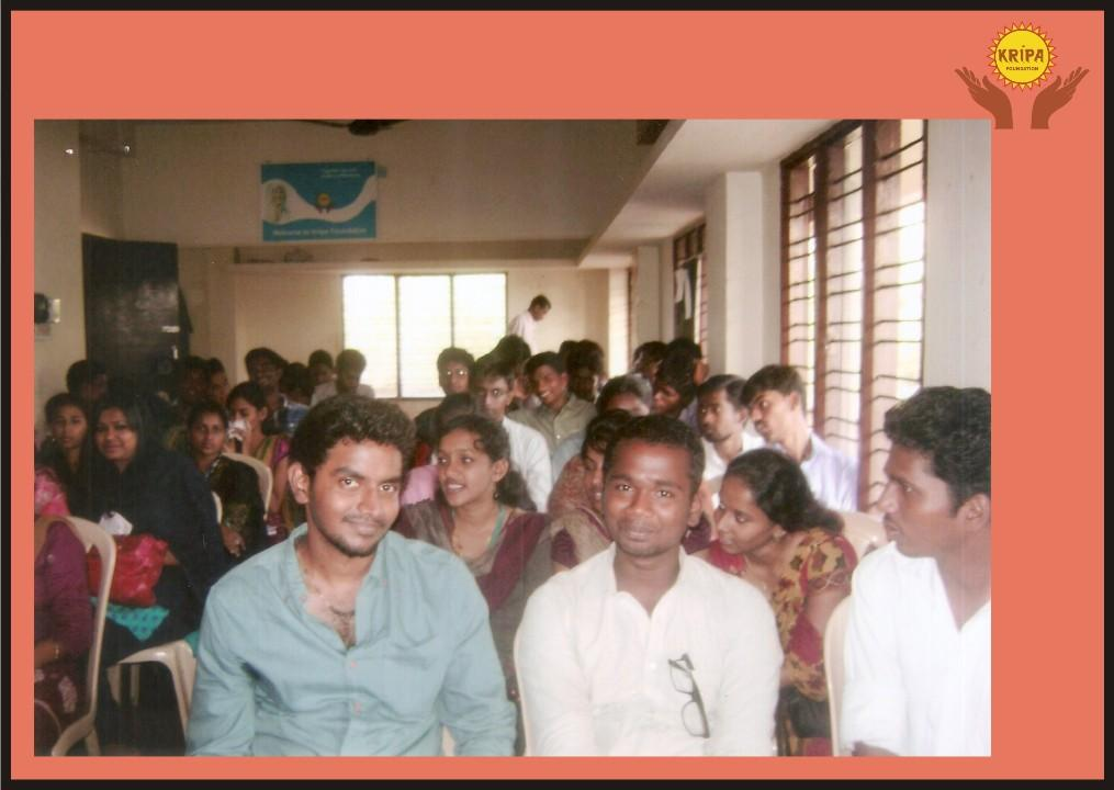 ... Programme for college students from Chennai by Kripa Mangalore