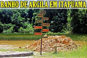 BANHO DE ARGILA EM ITAPUAMA