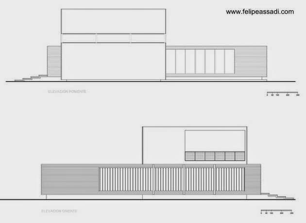 Plano de arquitectura Casa 02
