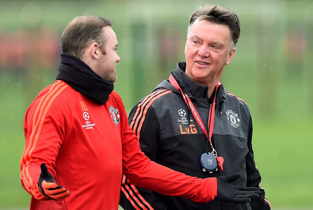 Louis van Gaal insists his relationship with captain Wayne Rooney and the team are good. Photo: AP