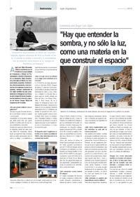 Entrevista a Ángel Gijón - Revista Vía Construcción nº 98-99