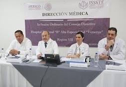 HOSPITAL REGIONAL DEL ISSSTE-VERACRUZ CON  ALTA PRODUCTIVIDAD QUIRÚRGICA: DIRECTOR