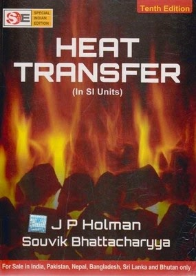 Heat transfer by J.P. Holman
