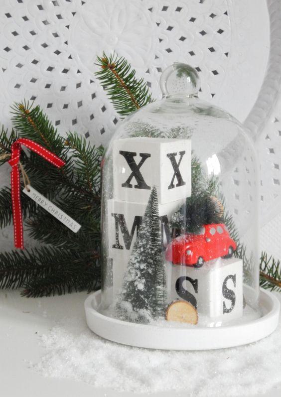 Dekoracja świąteczna KLOSZ