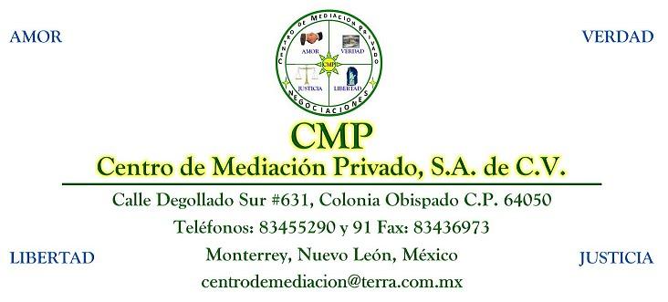 Centro de Mediación Privado S.A. de C.V. (CMP)