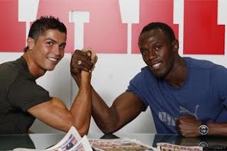 El Real Madrid es más rápido que Usain Bolt