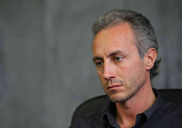 Italian journalist Marco Travaglio