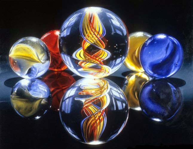 14-marbles-vii-Charles-Bell-Hyper-Realistic-Paintings-www-designstack-co