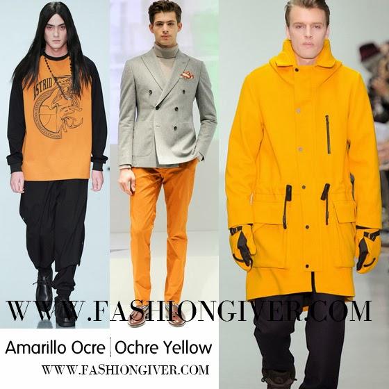 Fall Winter Trends 2014 2015 menswear fashion Milan Paris London
