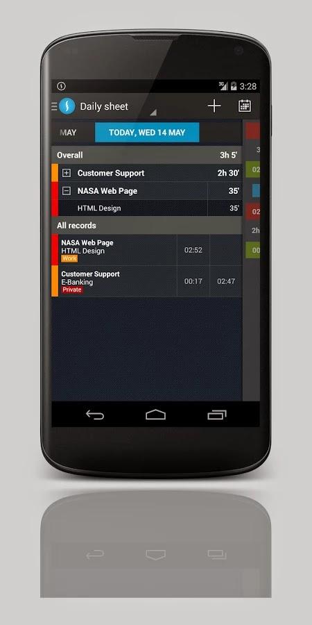 Swipetimes pro time tracker v3.3