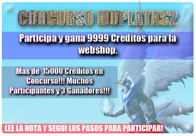 Concurso MuPlataS2 por 15000 Creditos