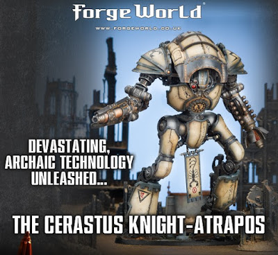 Mechanicum Cerastus Knight-Atrapos