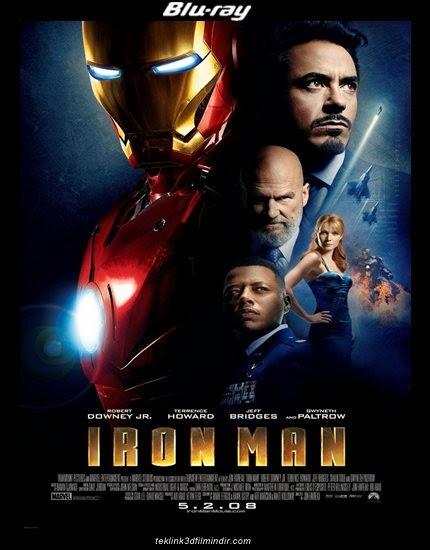 Demir Adam 1: Iron Man 1 (2008) afis