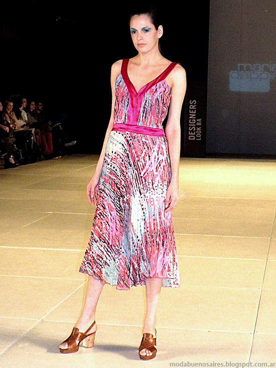 Mariana Dappiano primavera verano 2015. Moda primavera verano 2015 vestidos.